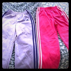 Adidas girls jogger pant